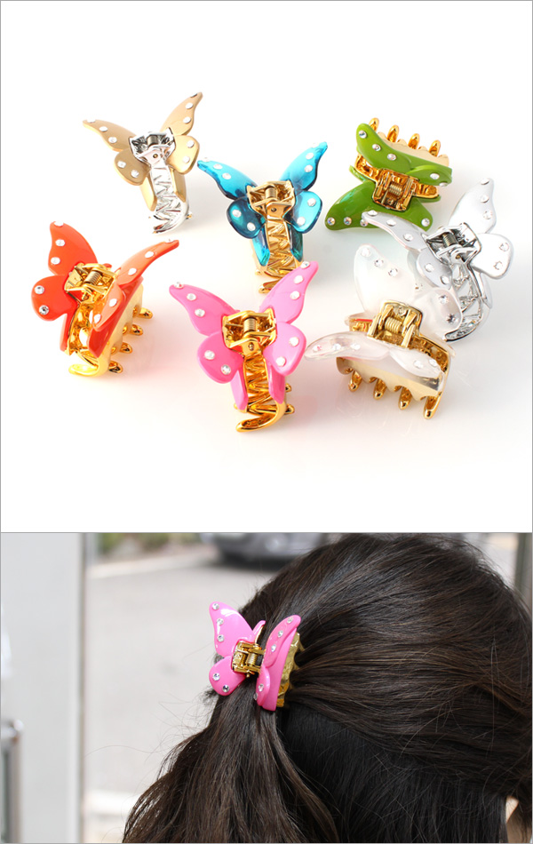 Nice sunset clamp pin hair accessories Korea model hep001
